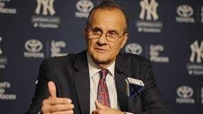 Former New York Yankees manager Joe Torre addresses