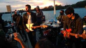 The band Capital Cities playing Surf Lodge in