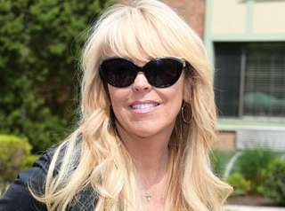 Dina Lohan attends the annual Memorial Day barbecue