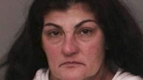 Denise Burke, 51, of North Merrick, seen after