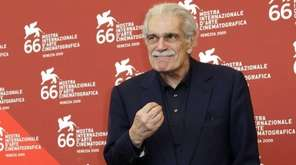 Egyptian actor Omar Sharif at the 66th edition