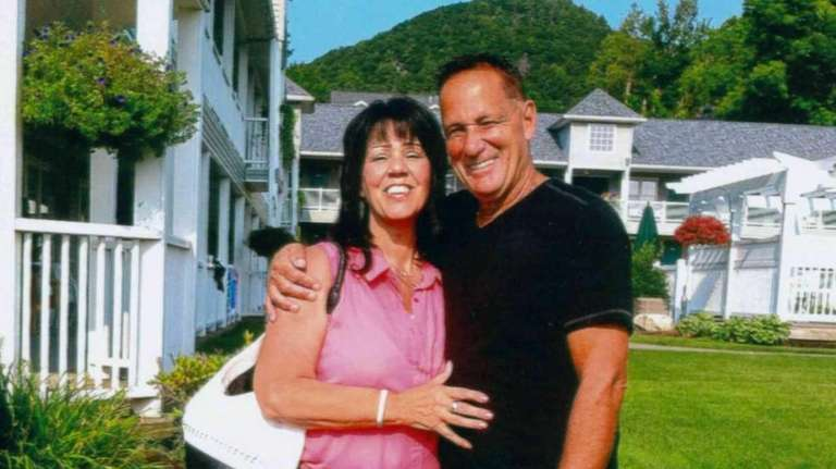 Steve and Denise Apicello of Floral Park in