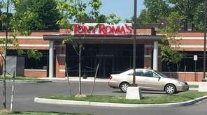 Tony Roma's serves ribs, steak and seafood in