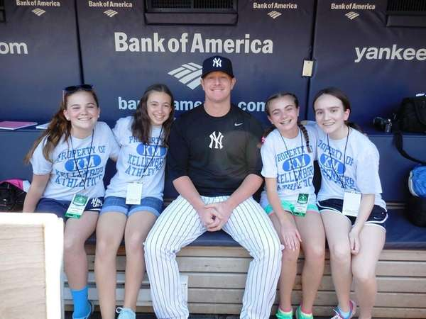 New York Yankees relief pitcher David Carpenter in