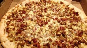 The chicken-bacon-honey Dijon pizza brings a new taste