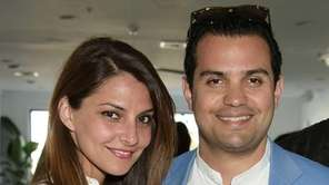 Ghazal Rey and Nima Benou attend the DuJour