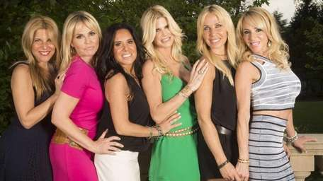 The cast of Bravo's new reality show