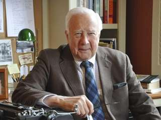 "David McCullough, author of ""The Wright Brothers"" (Simon"