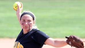 St. Anthony's Gabriella Marcheschi delivers a pitch during