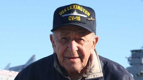World War II veteran Dominic Dantona, is shown