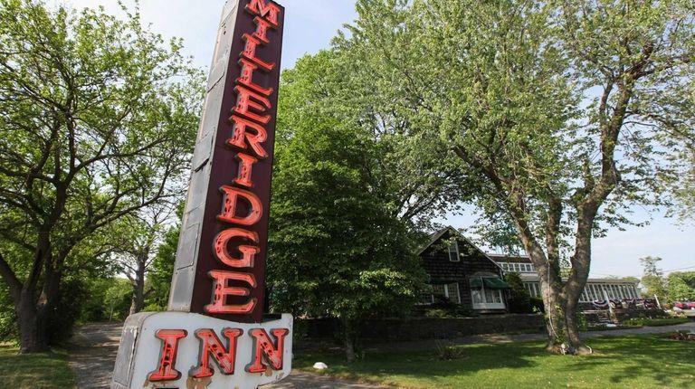 The Milleridge Inn in Jericho on May 26,