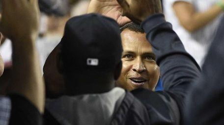 New York Yankees designated hitter Alex Rodriguez is