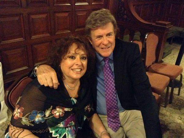 Gloria Schramm of North Bellmore interviewed radio DJ