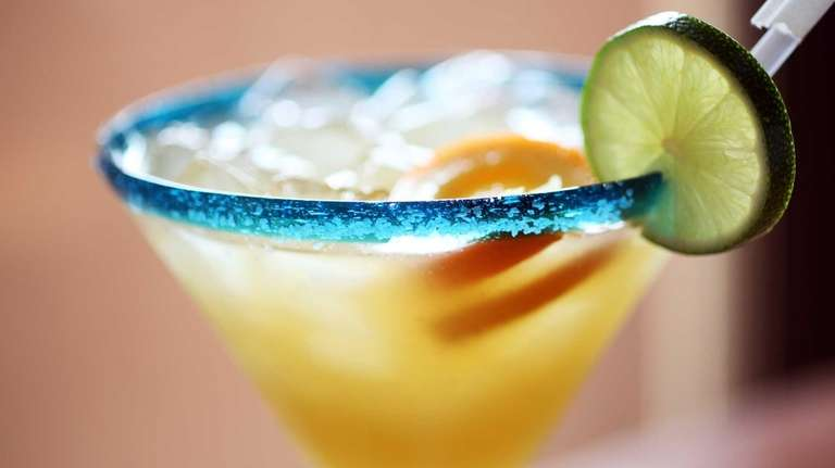 The Italian Margarita, made by beverage director Anthony