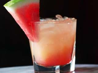 The Heat Wave Margarita, made by general manager