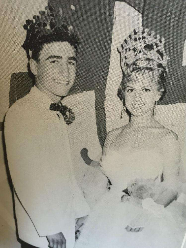 The 1960 prom king and queen of W.