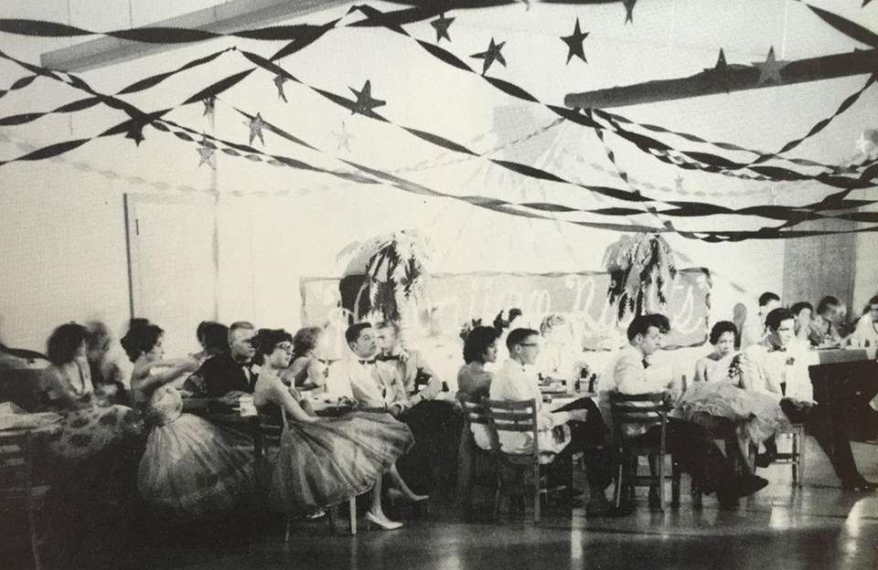 The prom for Class of 1960 at W.
