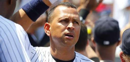 Alex Rodriguez #13 of the New York Yankees
