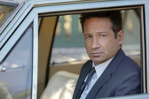 David Duchovny as Sam Hodiak in a scene