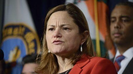 New York City Council Speaker Melissa Mark-Viverito during