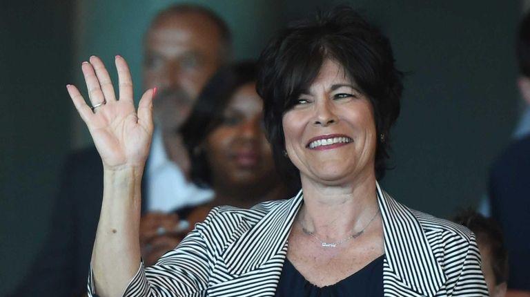 Democratic candidate for Hempstead Town Supervisor Rita Kestenbaum