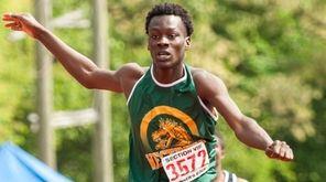 Westbury's Getho Brevette won the boys 400-meter hurdles