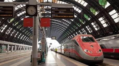Italy's high-speed Frecce trains, such as this one,