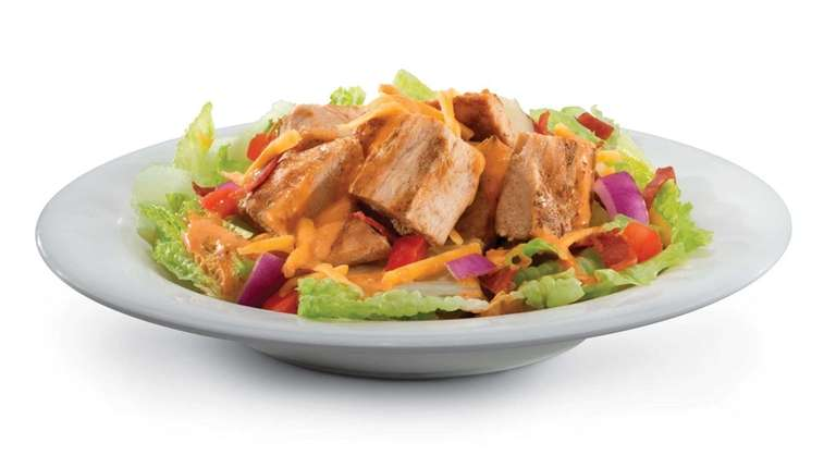 The Hollywood salad is one choice on the