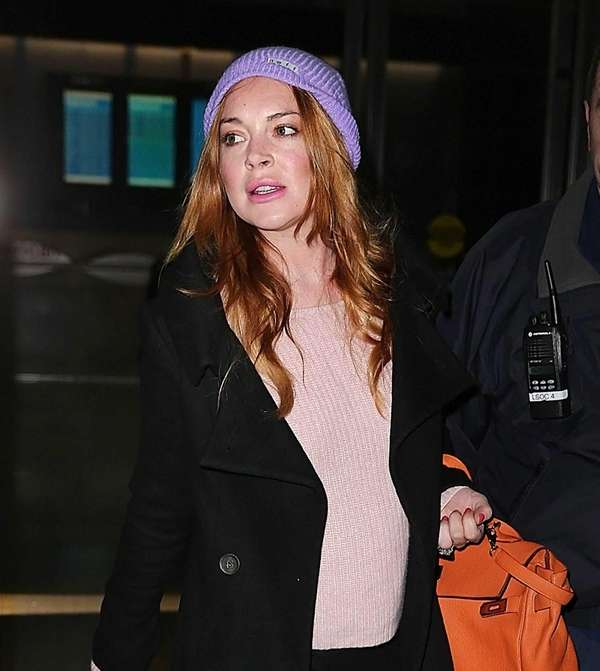 Lindsay Lohan in New York City on on
