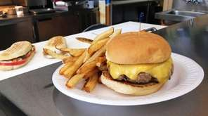 The burger at Ceriello 541 Club in Williston