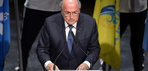 FIFA President Sepp Blatter speaks at the opening