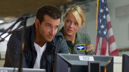 Bradley Cooper and Emma Stone in Columbia Pictures'