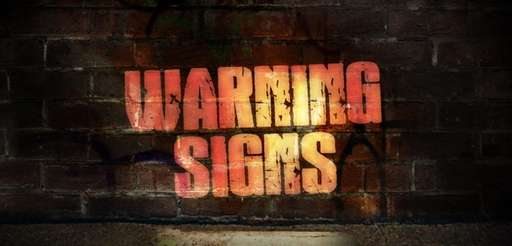 Warning signs for parents