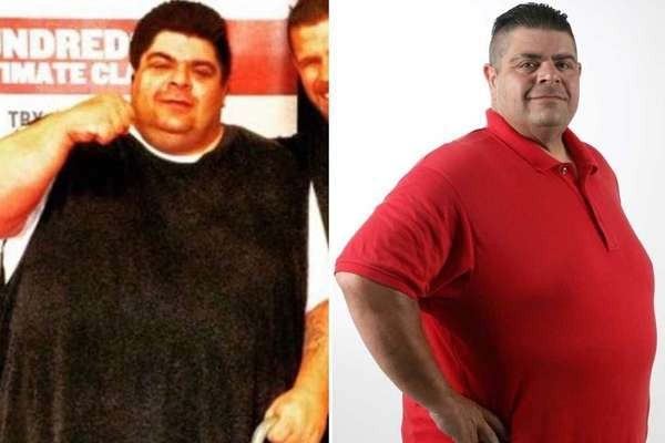Tom Firshing weighed 652 lbs in May of