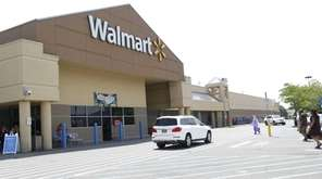The Walmart in Westbury is seen in this