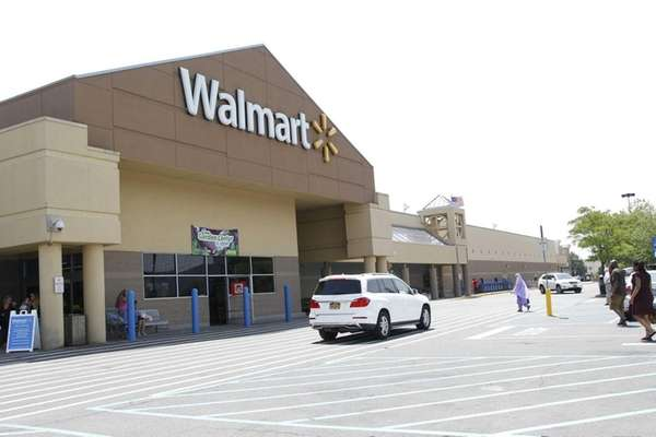 The Walmart in Westbury on Thursday, May 28,