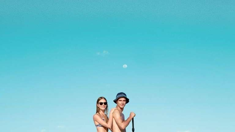 The J.Crew at the Beach pop-up shop will