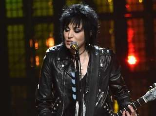 Joan Jett, who was inducted into the Rock