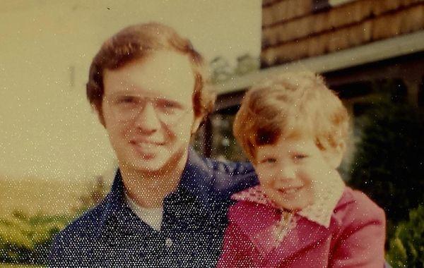 Reader Sy Roth with his son, Kurt, at