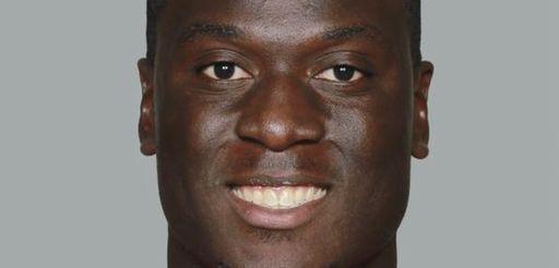 Atlanta Falcons linebacker Prince Shembo is shown in
