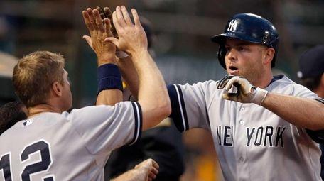Brian McCann of the New York Yankees is