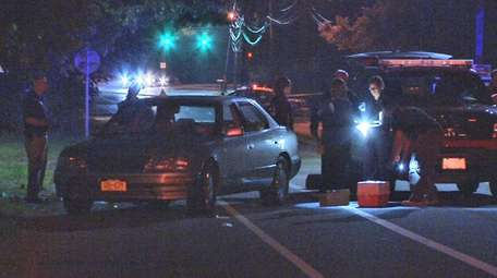 A Mastic teenager was stabbed and killed Friday,