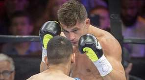 Chris Algieri of Huntington fights Amir Khan of