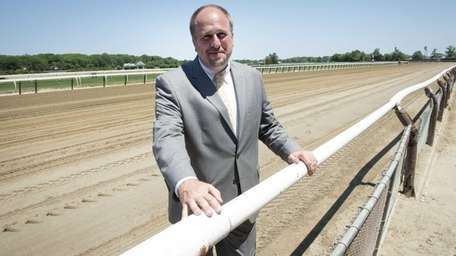 Glen Kozak, vice-president of facilities and racing surfaces