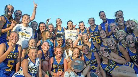West Islip celebrates its Long Island Class A