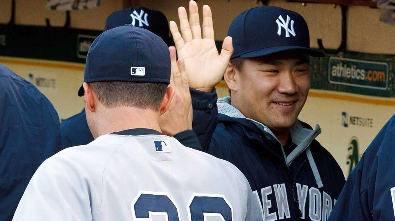 Masahiro Tanaka of the New York Yankees is