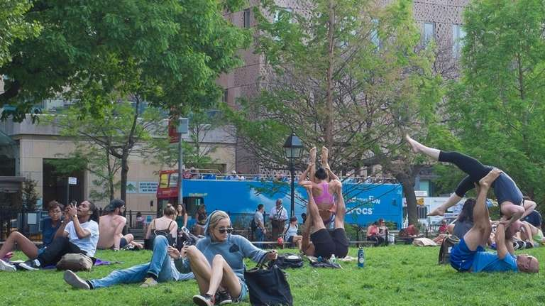 Sunny, warm May proved to be a great