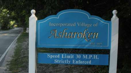 A file photo of a sign welcoming motorists