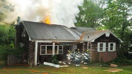 The Dix Hills Fire Department responded to a