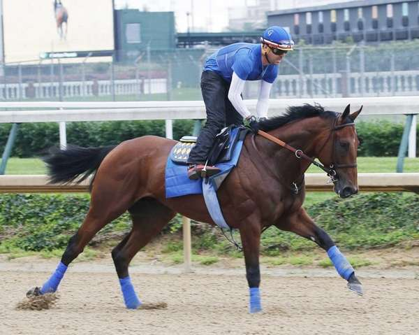 In a photo provided by Churchill Downs, American